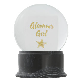 Glamour Girl Snow Globes