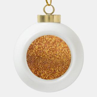 Glamour Glitter Shiny Ceramic Ball Decoration