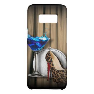 glamour martini cocktail party girl stilletos Case-Mate samsung galaxy s8 case
