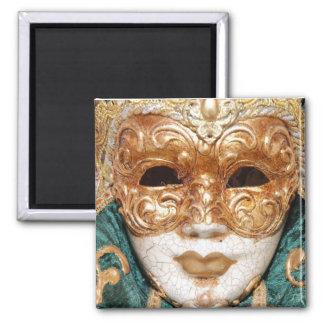 Glamour Mask Square Magnet