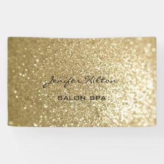 Glamourous modern chic faux gold glittery
