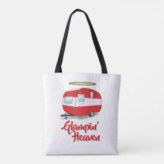 Glamping Heaven Retro Camper Tote Bag