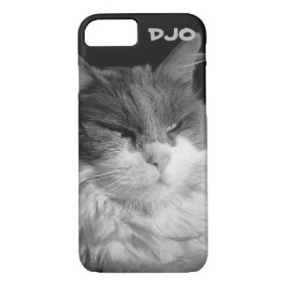 Glare of the Bat Cat iPhone 7 Case