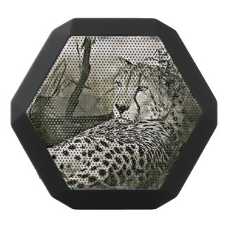 Glaring Cheetah  Digital Art Speaker