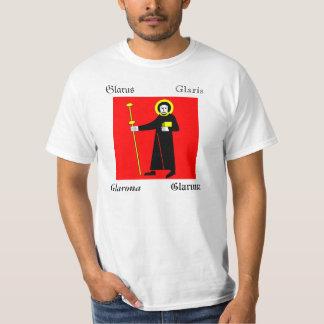 Glarus Four Language Swiss Canton Flag T-Shirt