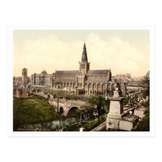 Glasgow Cathedral, Glasgow, Scotland Postcard