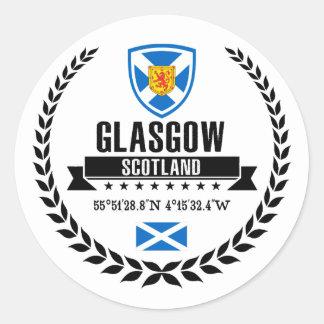 Glasgow Classic Round Sticker