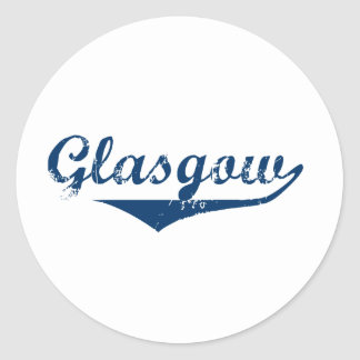 Glasgow Classic Round Sticker