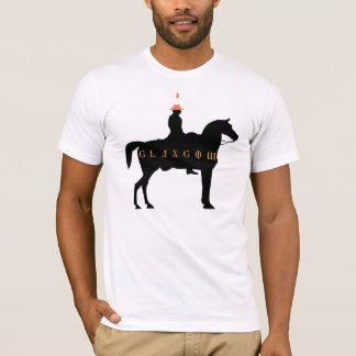 Glasgow Duke of Wellington Statue T-Shirt