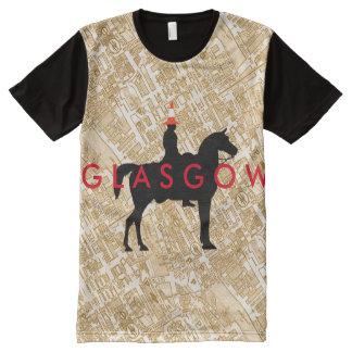 Glasgow Duke of Wellington Traffic Cone Statue All-Over Print T-Shirt