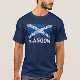 Glasgow + Grunge Scottish Flag T-Shirt