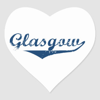 Glasgow Heart Sticker