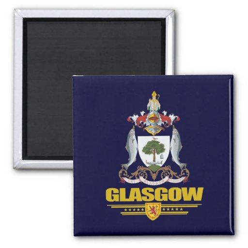 Glasgow Fridge Magnet