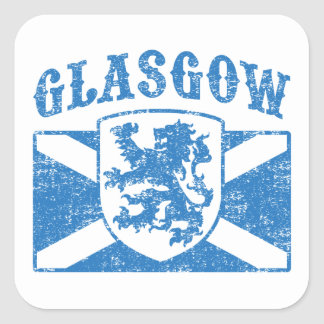 Glasgow Scotland Square Sticker