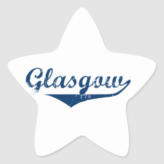 Glasgow Star Sticker