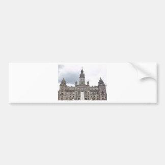 Glasgow Town Hall Bumper Sticker