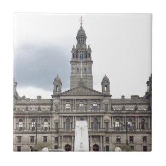Glasgow Town Hall Ceramic Tile