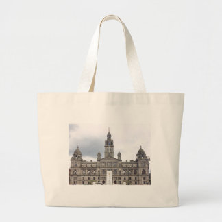 Glasgow Town Hall Large Tote Bag