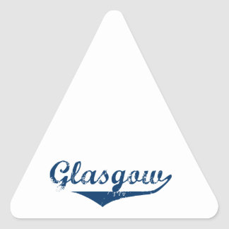 Glasgow Triangle Sticker