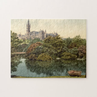 Glasgow University, Glasgow, Scotland Jigsaw Puzzle
