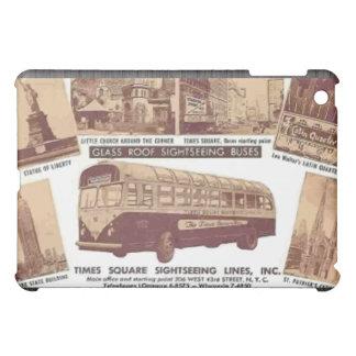 Glasroof Sightseeing Buses Time Squre , Vintage iPad Mini Case