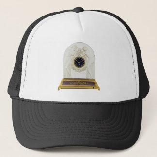 Glass Art Deco clock. Trucker Hat