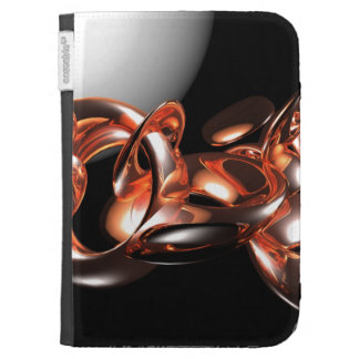Glass Asteroids 3D Abstract Art Kindle 3G Covers