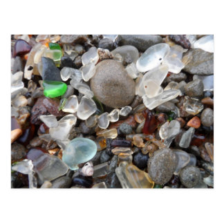 Glass Beach- Fort Bragg, CA Postcard