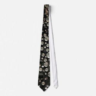 Glass Beads & Sequins Tie