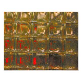 Glass Block Wall Photograph
