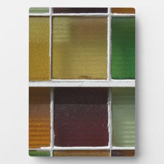 Glass Blocks Plaque