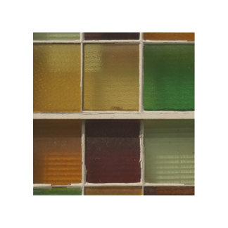 Glass Blocks Wood Canvases