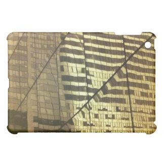 Glass building iPad mini cover