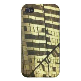 Glass building case for iPhone 4