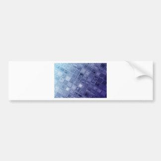 Glass Bumper Sticker
