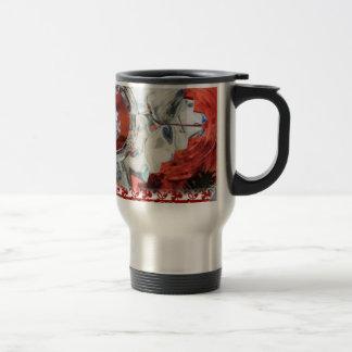 Glass Christmas Ornament Travel Coffee Mug