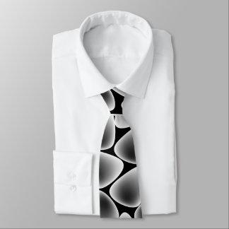 Glass crystals tie