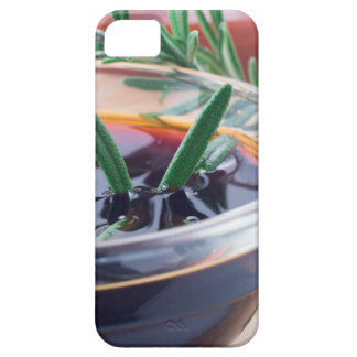 Glass cup with soy sauce and rosemary barely there iPhone 5 case