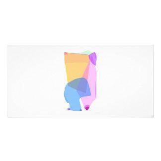 Glass Custom Photo Card
