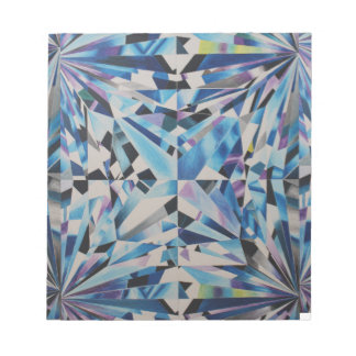 """Glass Diamond 5.5"""" x 6"""" Notepad - 40 pages"""