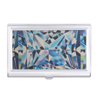 Glass Diamond Business Card Holder