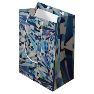 Glass Diamond Gift Bag - Medium, Matte