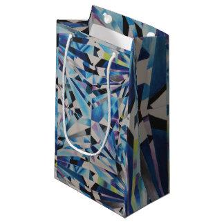 Glass Diamond Gift Bag - Small, Glossy