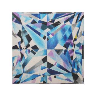 "Glass Diamond Print 12"" x 12"", 1.5"", Single"