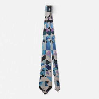 Glass Diamond Tie