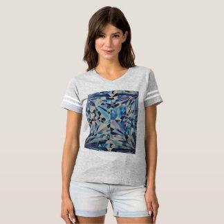 Glass Diamond Women's Football T-Shirt