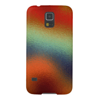 Glass Distort (2 of 12) (Red) Cases For Galaxy S5