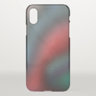 Glass Distort (7 of 12) iPhone X Case