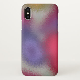 Glass Distort (8 of 12) iPhone X Case
