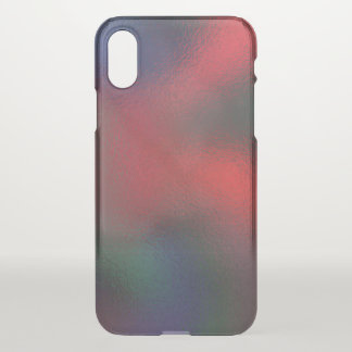 Glass Distort (9 of 12) iPhone X Case